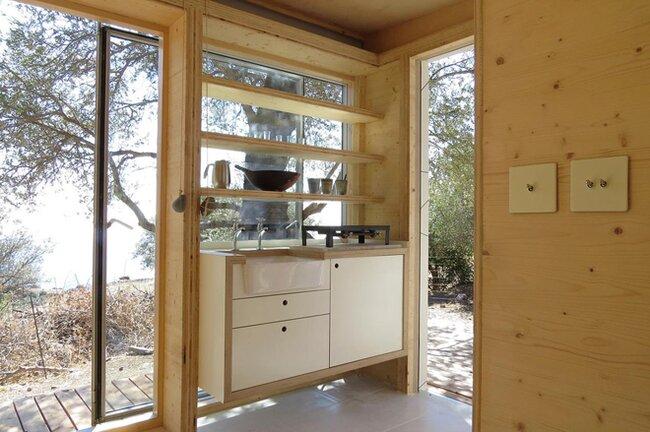 Tiny House on Wheels - Echo Livin - Greece - Kitchen - Humble Homes