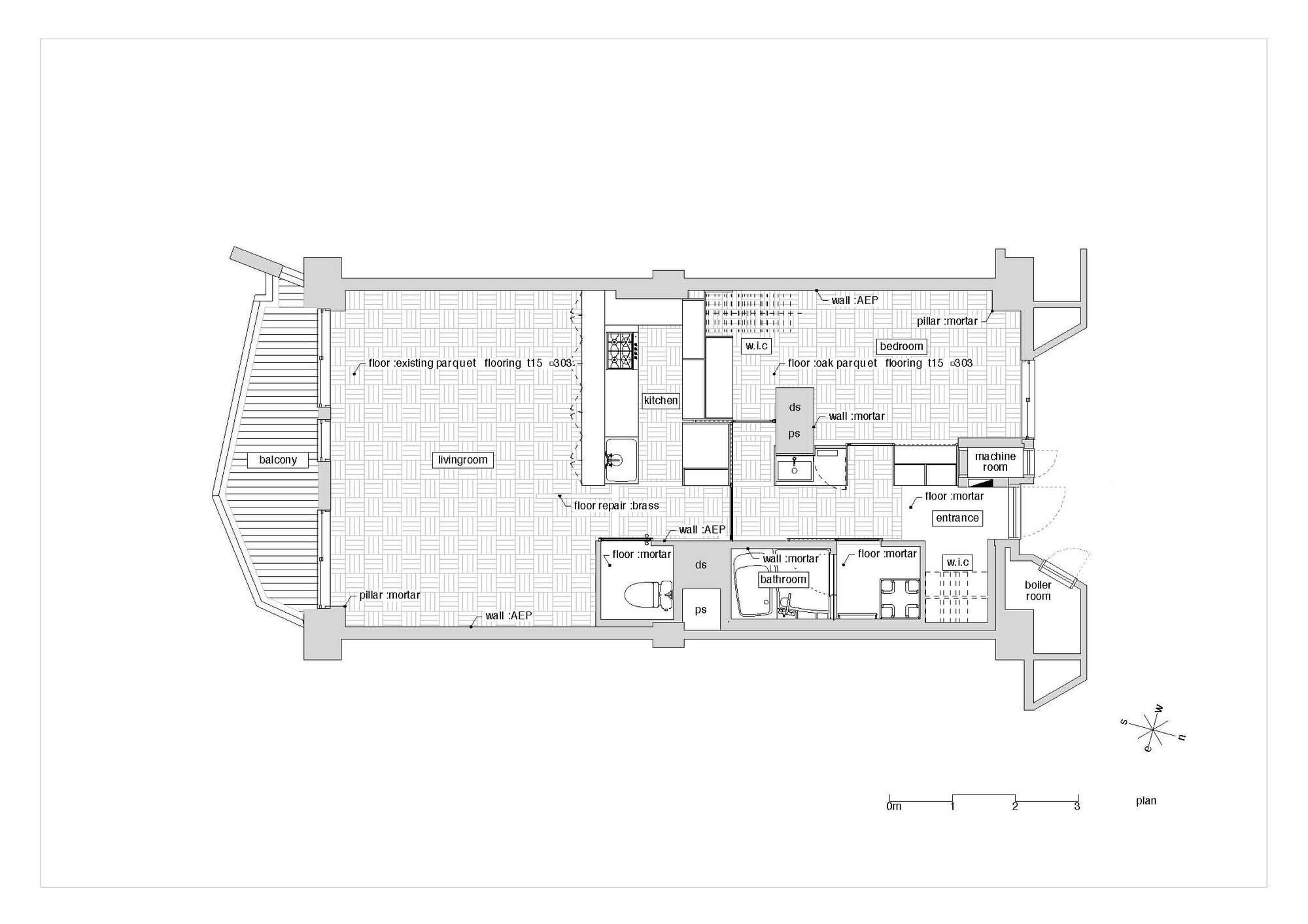 Gakugeidaigaku - Yuichi Yoshida & Associates - Japan - Floor Plan - Humble Homes