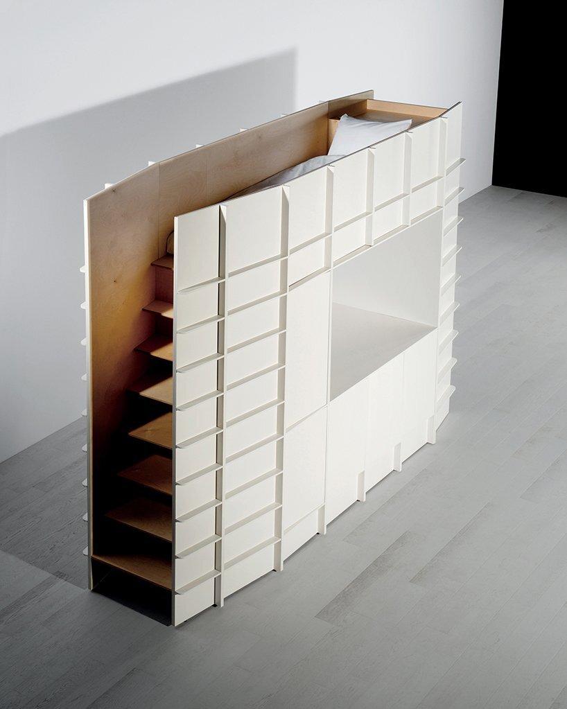 Gilles Belley - Smart Furniture - Block - Sleeping Space - Humble Homes