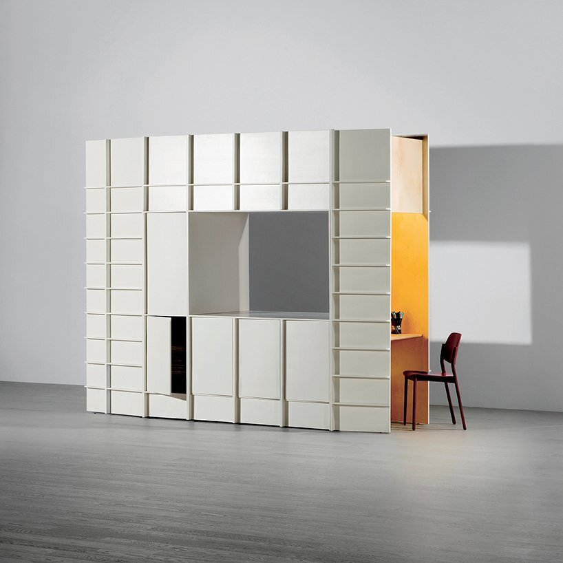 Gilles Belley - Smart Furniture - Block - Study - Humble Homes
