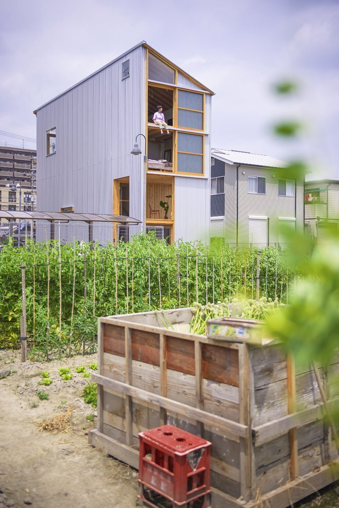 House for Pottery Festival - Office for Environment Architecture - Japan - Exterior Day - Humble Homes
