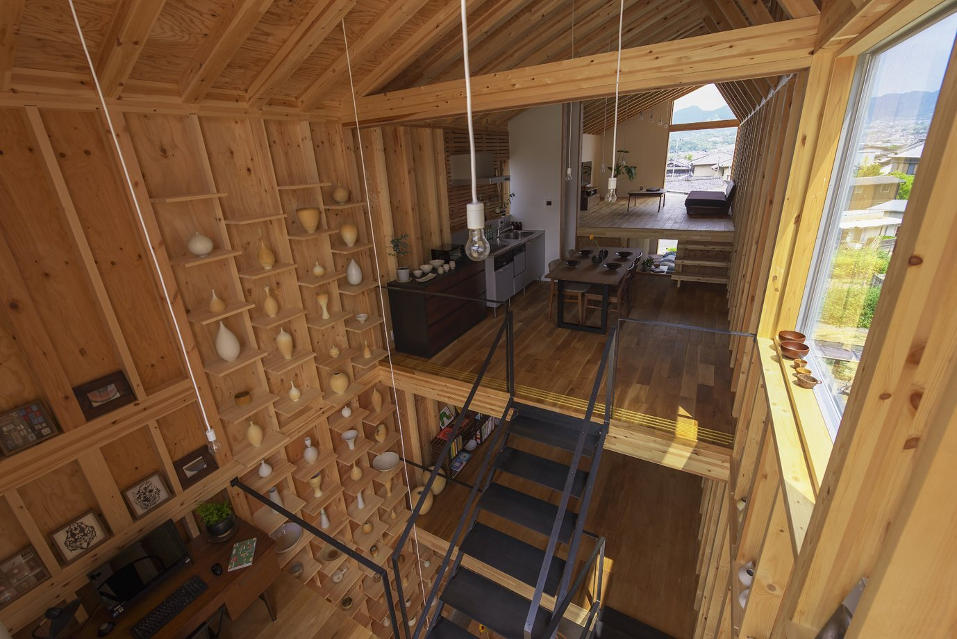 House for Pottery Festival - Office for Environment Architecture - Japan - Kitchen - Humble Homes