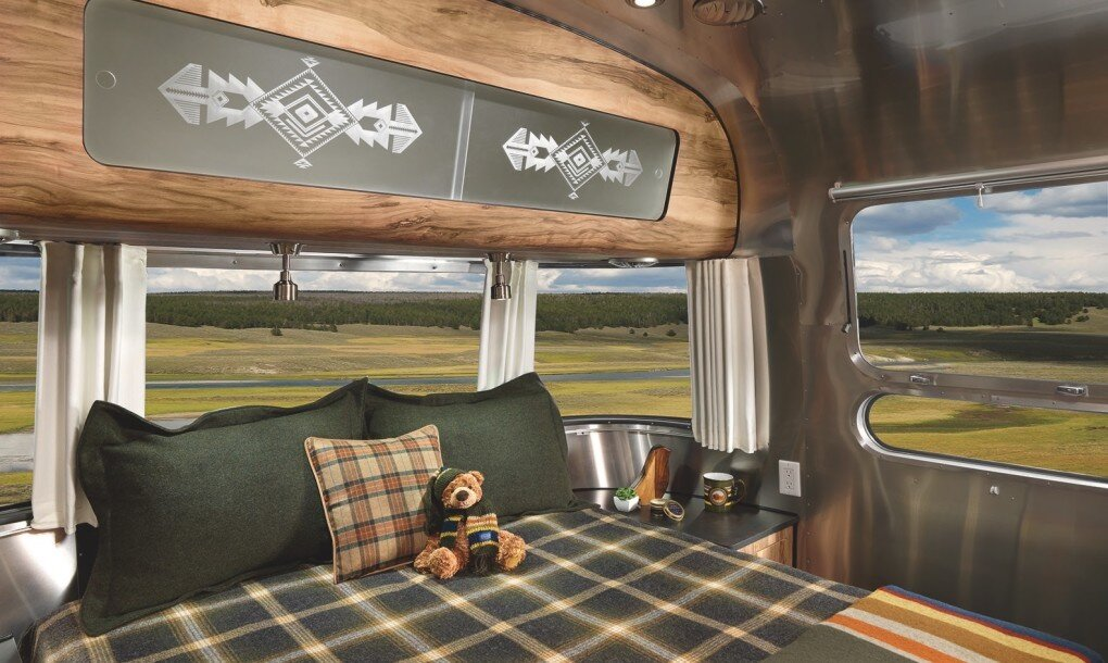 Pendleton Airstream - National Park Foundation - Pendleton Woolen Mills - Bedroom - Humble Homes.jpg