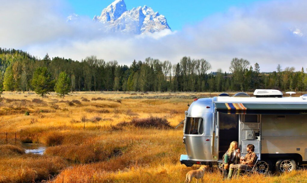 Pendleton Airstream - National Park Foundation - Pendleton Woolen Mills - In landscape - Humble Homes.jpg