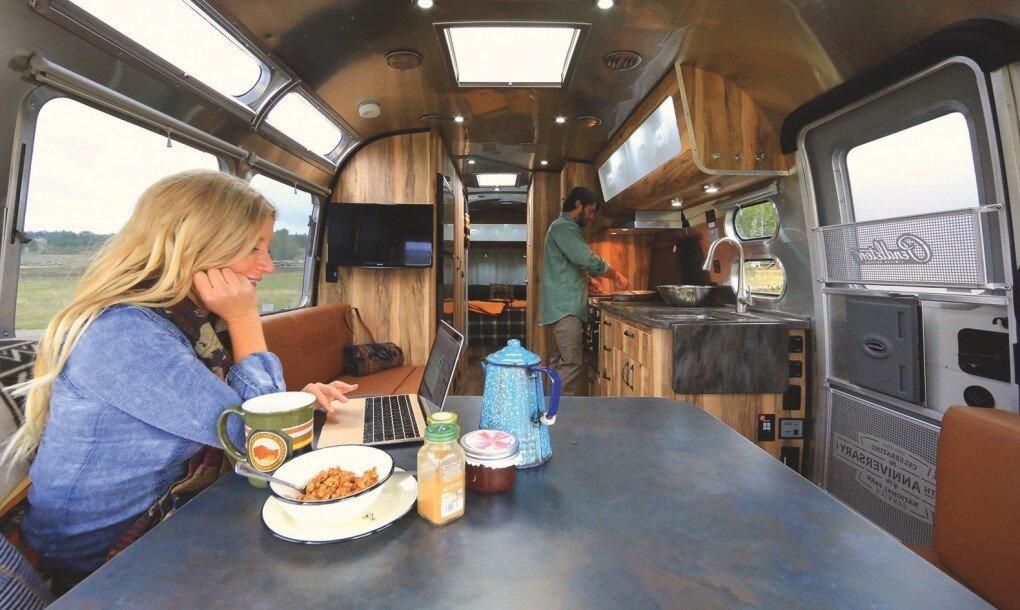 Pendleton Airstream - National Park Foundation - Pendleton Woolen Mills - Kitchen 2 - Humble Homes.jpg