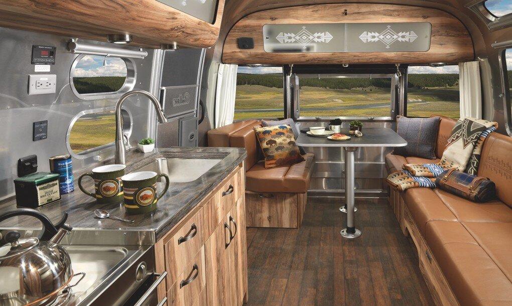 Pendleton Airstream - National Park Foundation - Pendleton Woolen Mills - Kitchen - Humble Homes.jpg