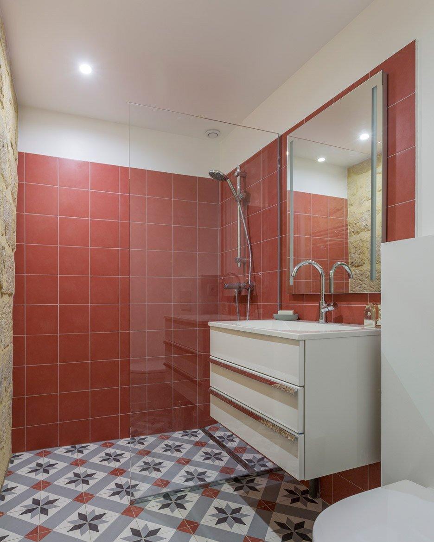 Tiny Apartment - Anne Rolland Architecte - Paris - Bathroom - Humble Homes