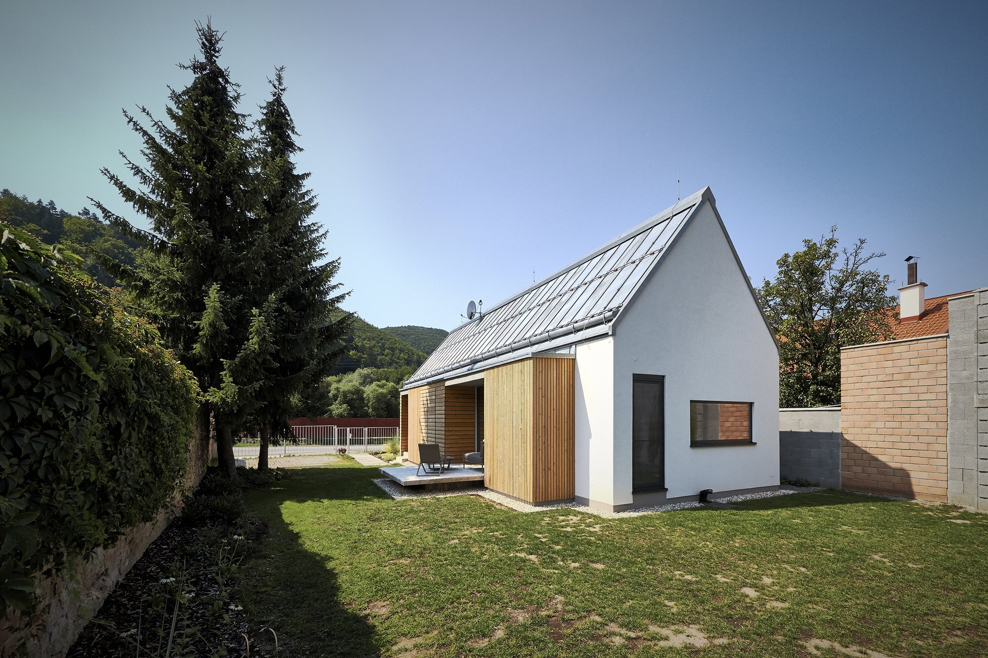 The Wooden Brick House Is Made Of Eco Friendly Bricks