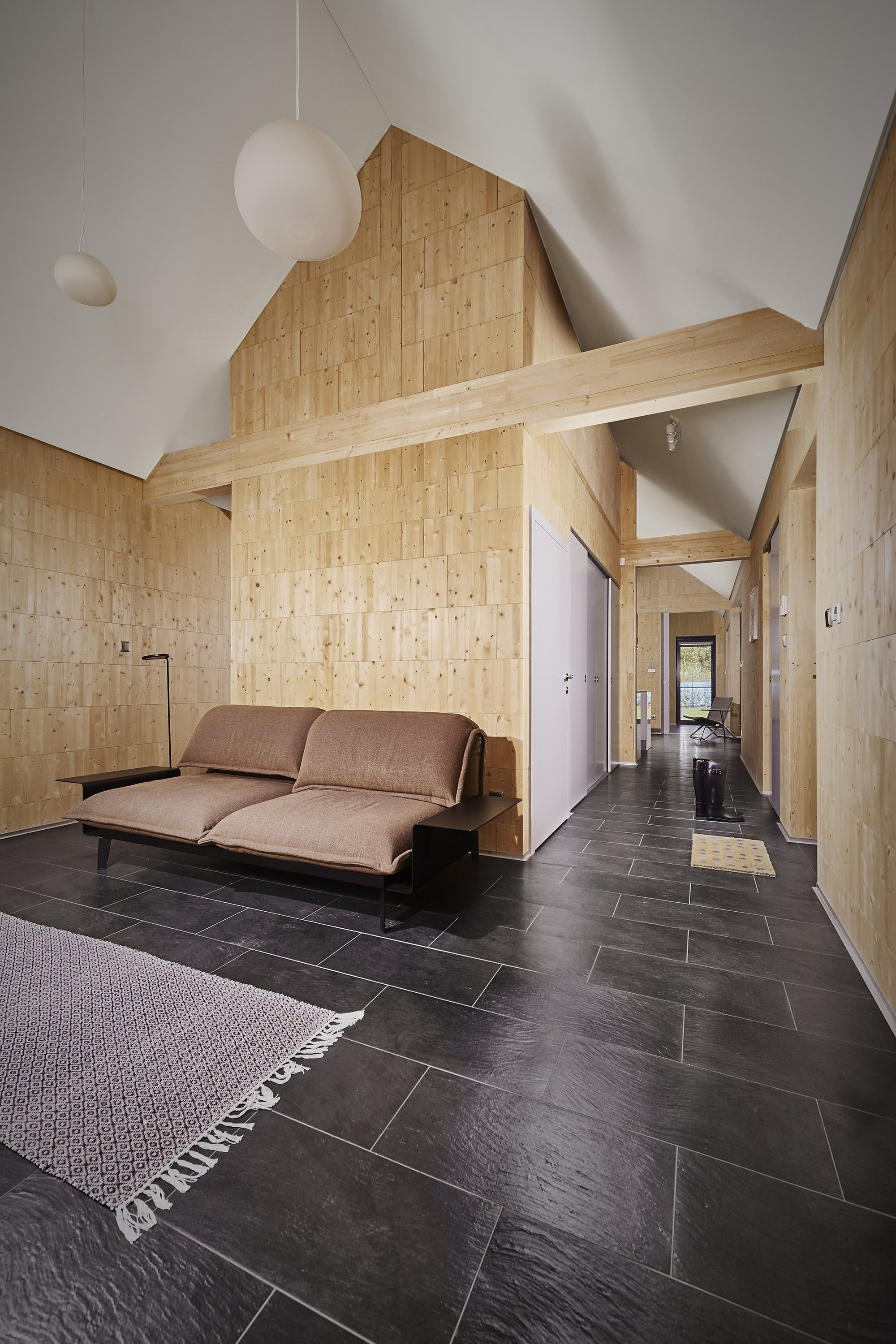 The Wooden Brick House is Made of Eco-Friendly Wooden Bricks