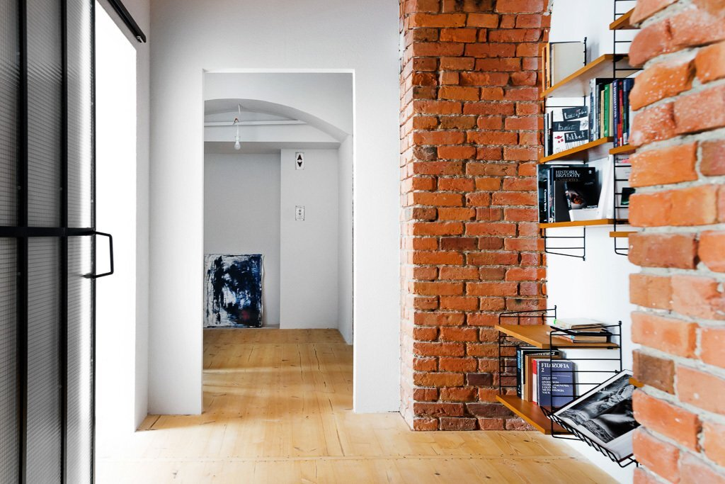 Loft in a Marmalade Factory - Loft Szczecin - Poland - Hallway - Humble Homes