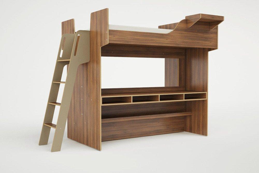 Lofted Beds - Casa Kids - Urbano - Bed with Sofa 3 - Humble Homes