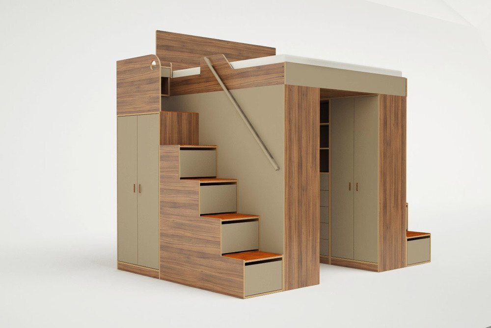 Casa Collection Reveals Space Saving Loft Beds For Small Homes