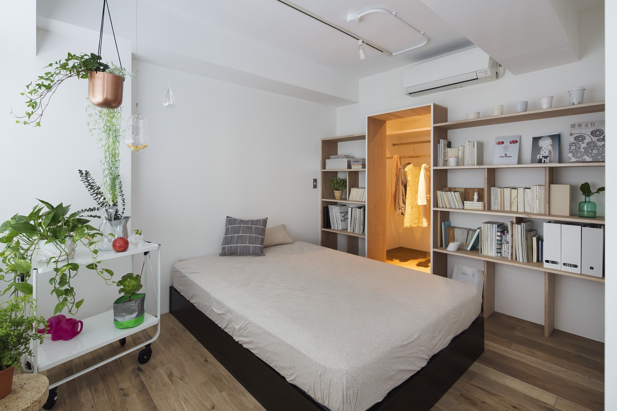 Opera - Taka Shinomoto and Voar Design Haus - Small Apartment in Tokyo - Bedroom - Humble Homes