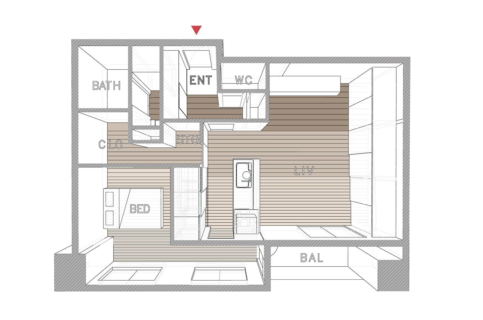 Opera-Taka-Shinomoto-and-Voar-Design-Haus-Small-Apartment-in-Tokyo-Floor-Plan-Humble-Homes