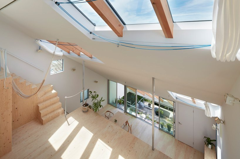 Reslope House - Tomohiro Hata - Kobe - Tiered Levels - Humble Homes