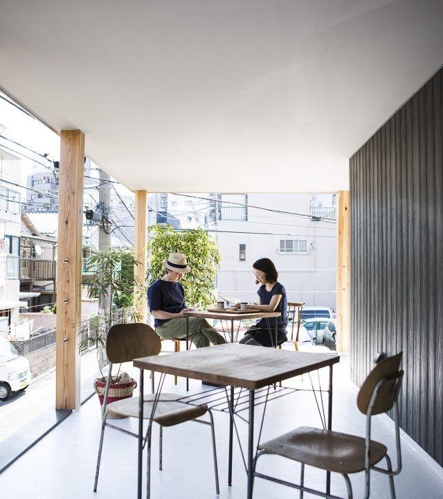 Furuyu Design - Omori Machi - Tokyo - Balcony - Humble Homes