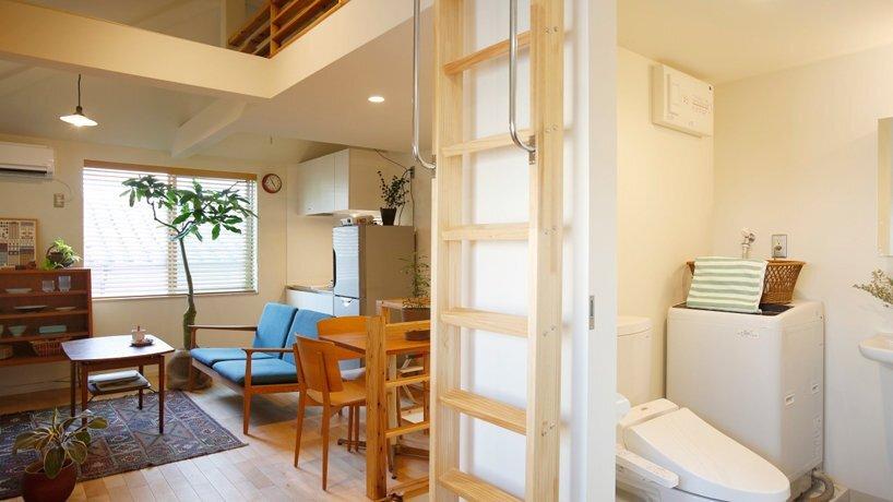 Furuyu Design - Omori Machi - Tokyo - Living Area - Humble Homes
