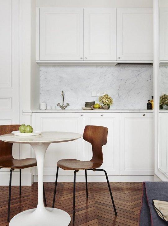 Tiny Apartment - A+B Kesha - Paris - Kitchen - Humble Homes