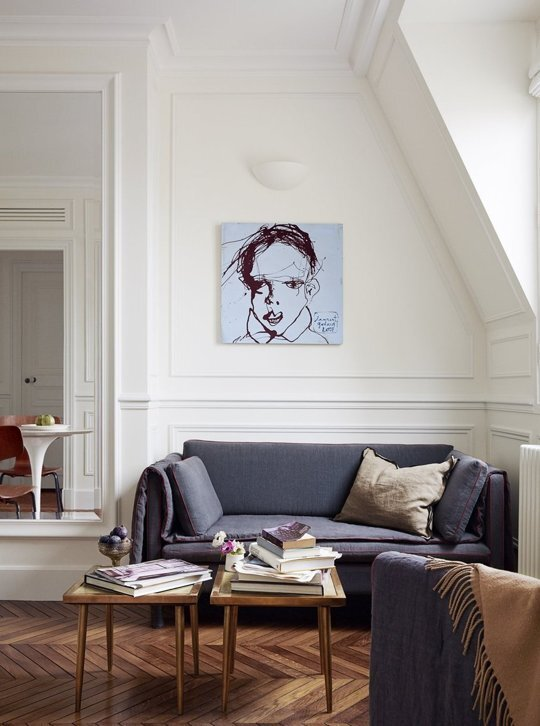 Tiny Apartment - A+B Kesha - Paris - Sofa - Humble Homes