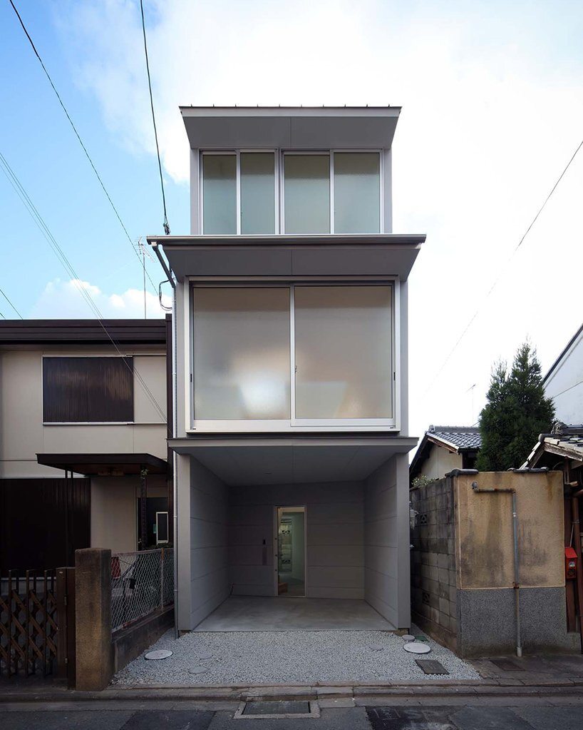 New Kyoto Town House - Alphaville - Japan - Exterior - Humble Homes