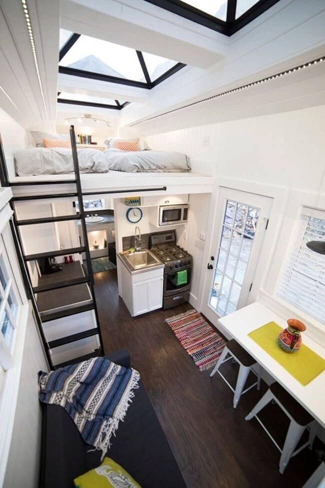 Superior Tiny House By Patrick And Sarah Romero   Utah   Interior Living Area    Humble Homes