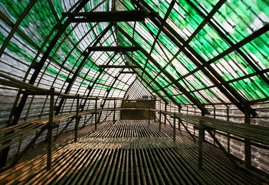 Bottle Seedling House - International Architecture JSC - Vietnam - Interior - Humble Homes