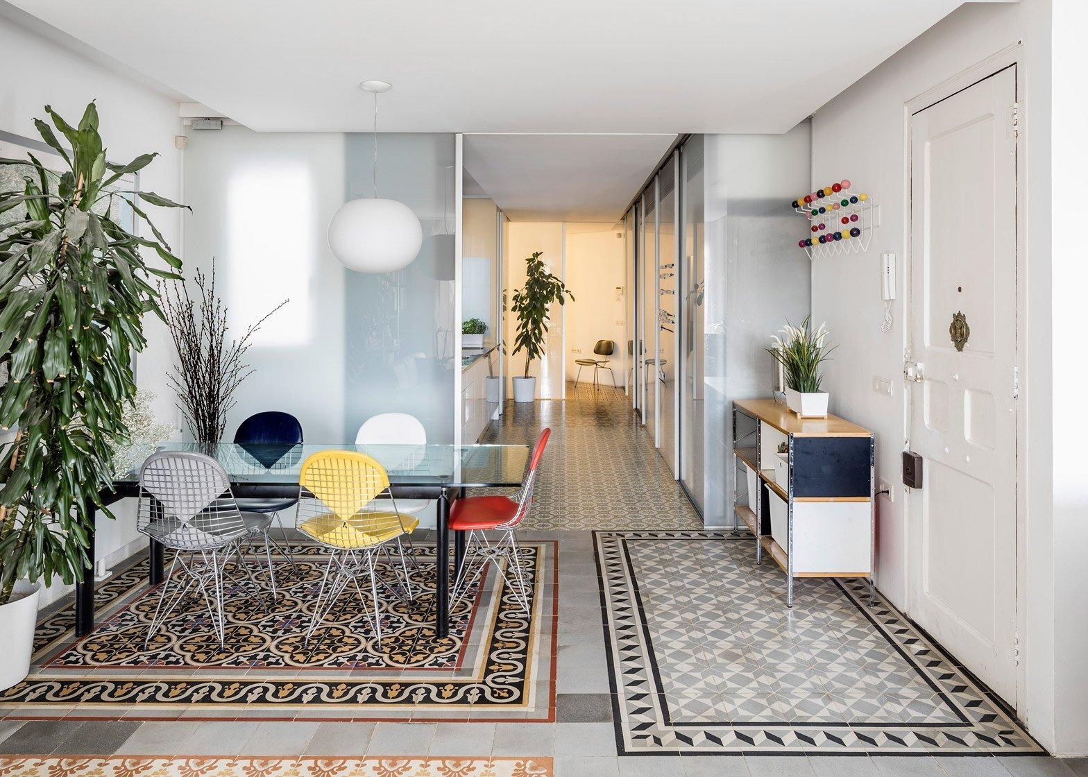 Historic Apartment Renovation - Nach - Barcelona - Living Area - Humble Homes