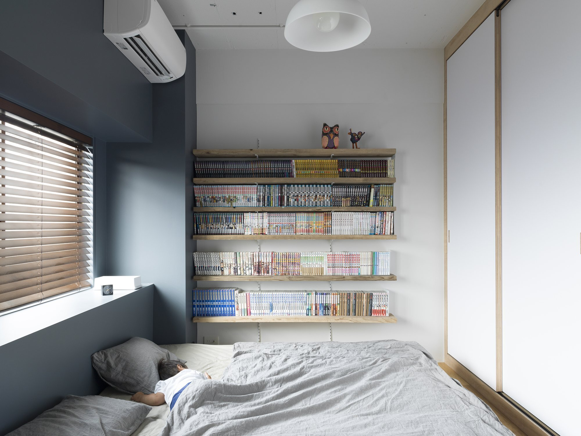 J House - Domino Architects - Japan - Bedroom - Humble Homes