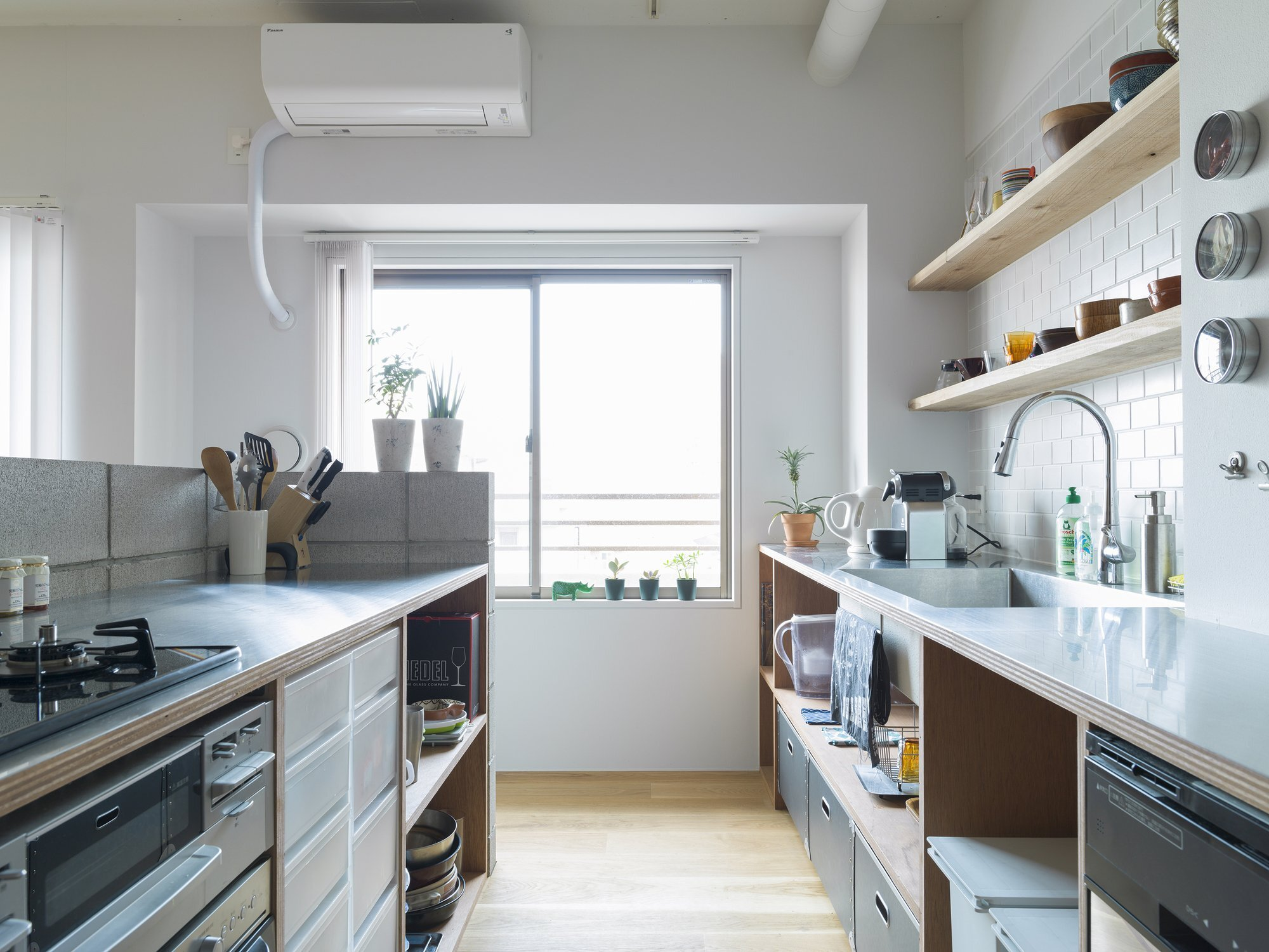 J House - Domino Architects - Japan - Kitchen - Humble Homes