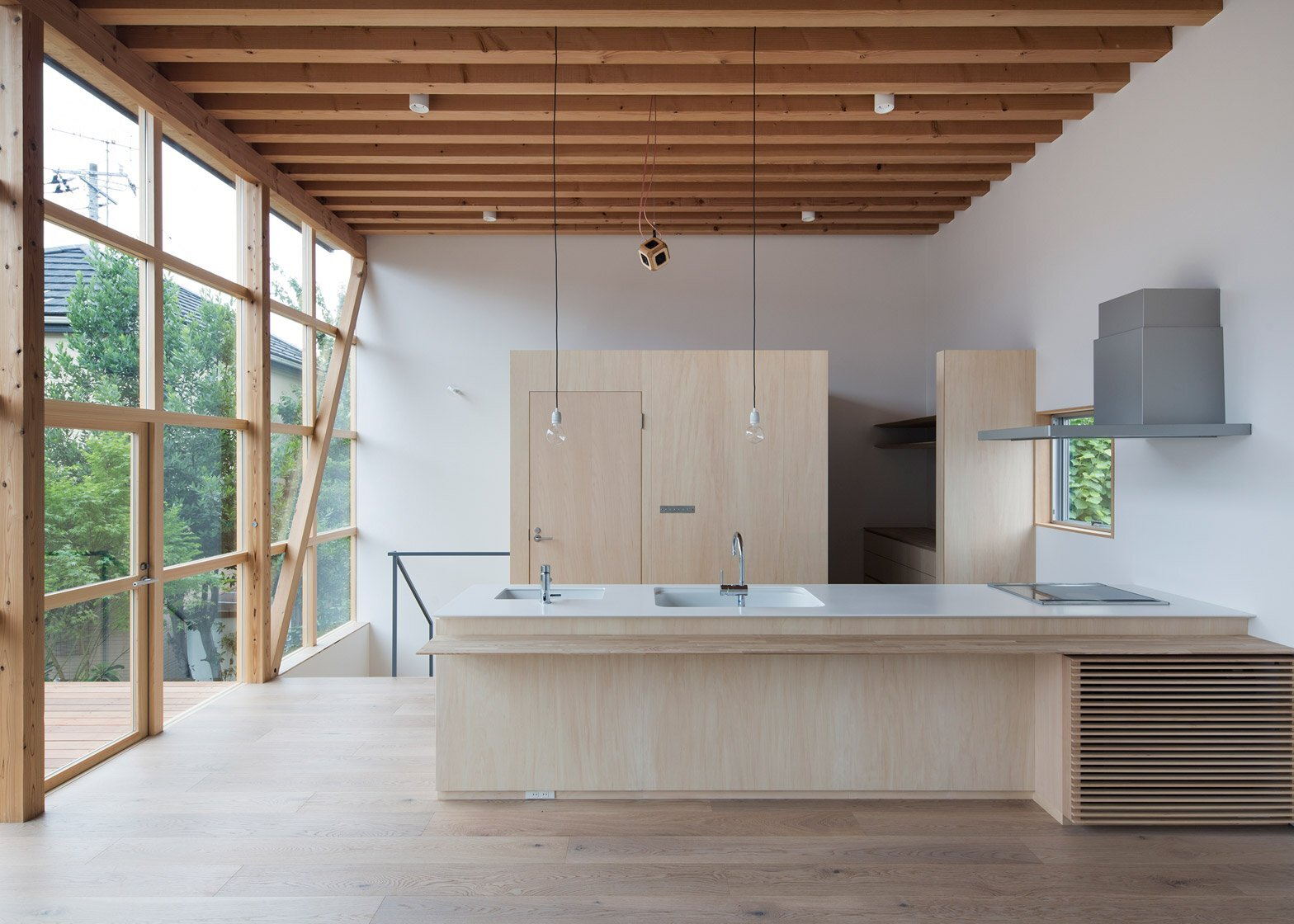 Module Grid House - Tetsuo Yamaji Architects - Kanto Japan - Kitchen - Humble Homes