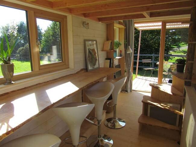 Tiny Stream Tiny House -  La Tiny House - France - Living Area - Humble Homes