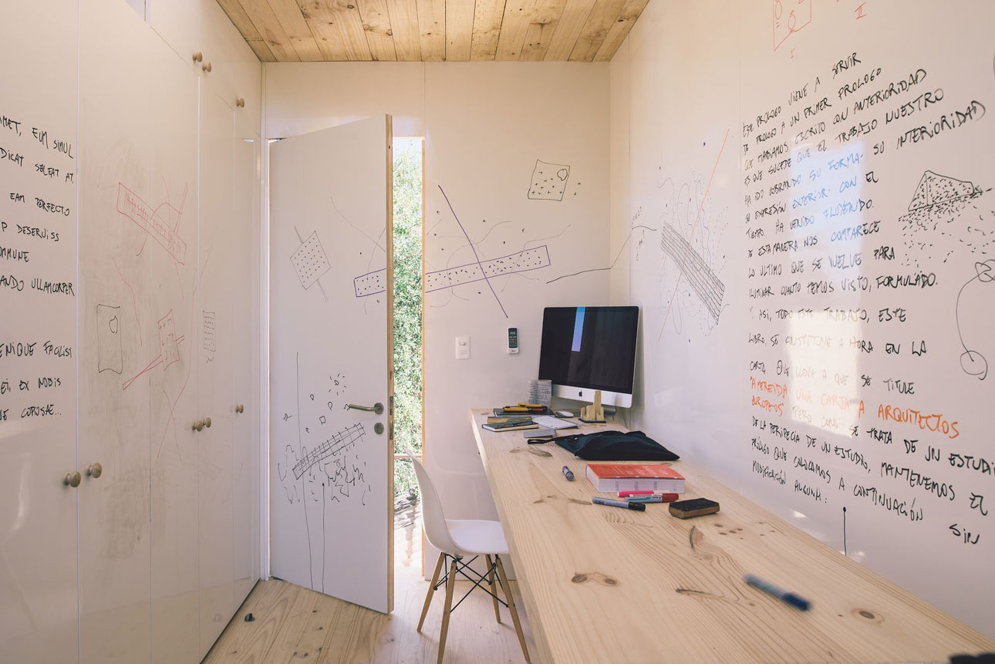 Workshop in the City - Romero Silva Arquitectos - Chile - Interior Front - Humble Homes