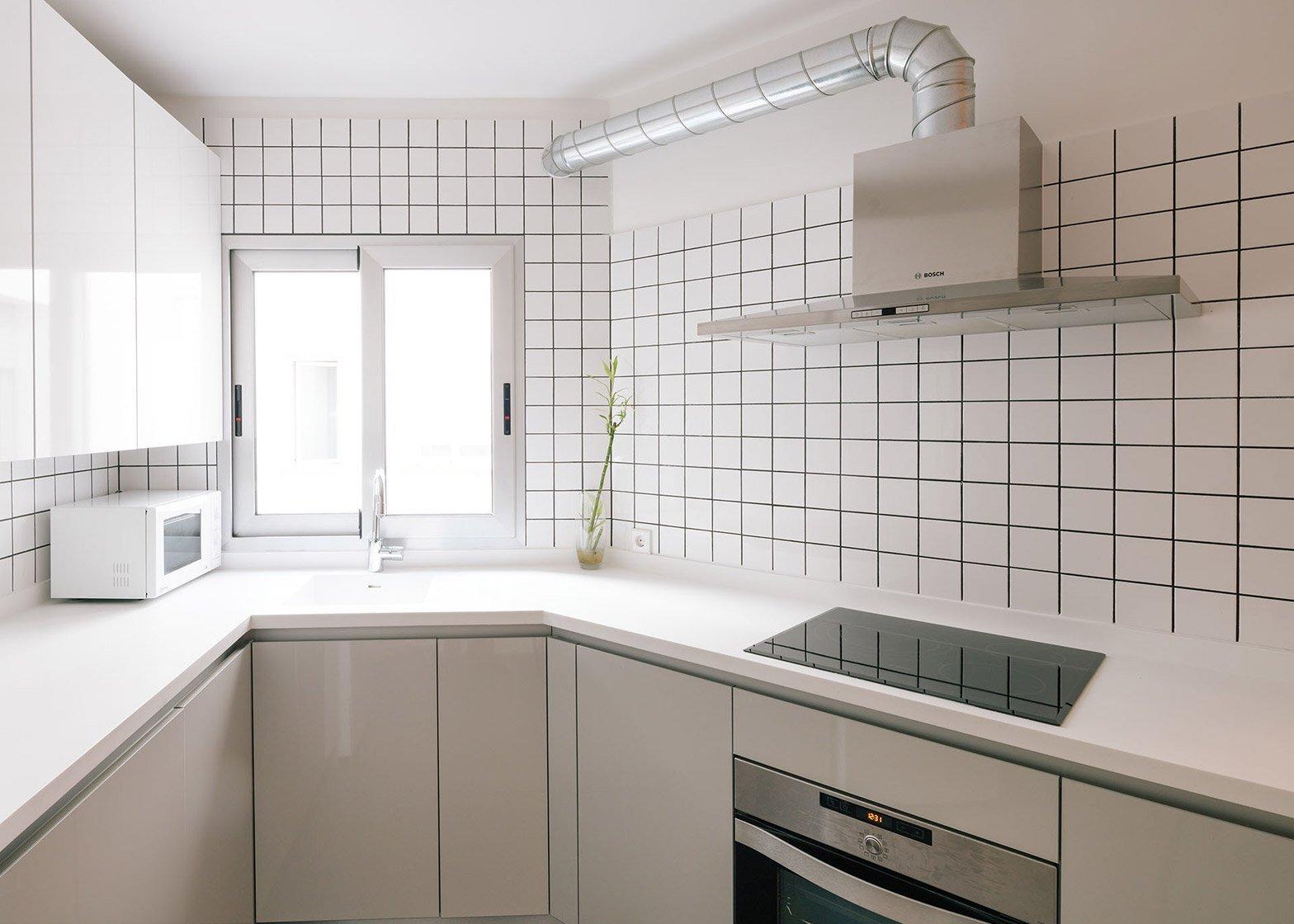 Casa MD - Small Apartment - PYO Arquitectos - Madrid - Kitchen - Humble Homes