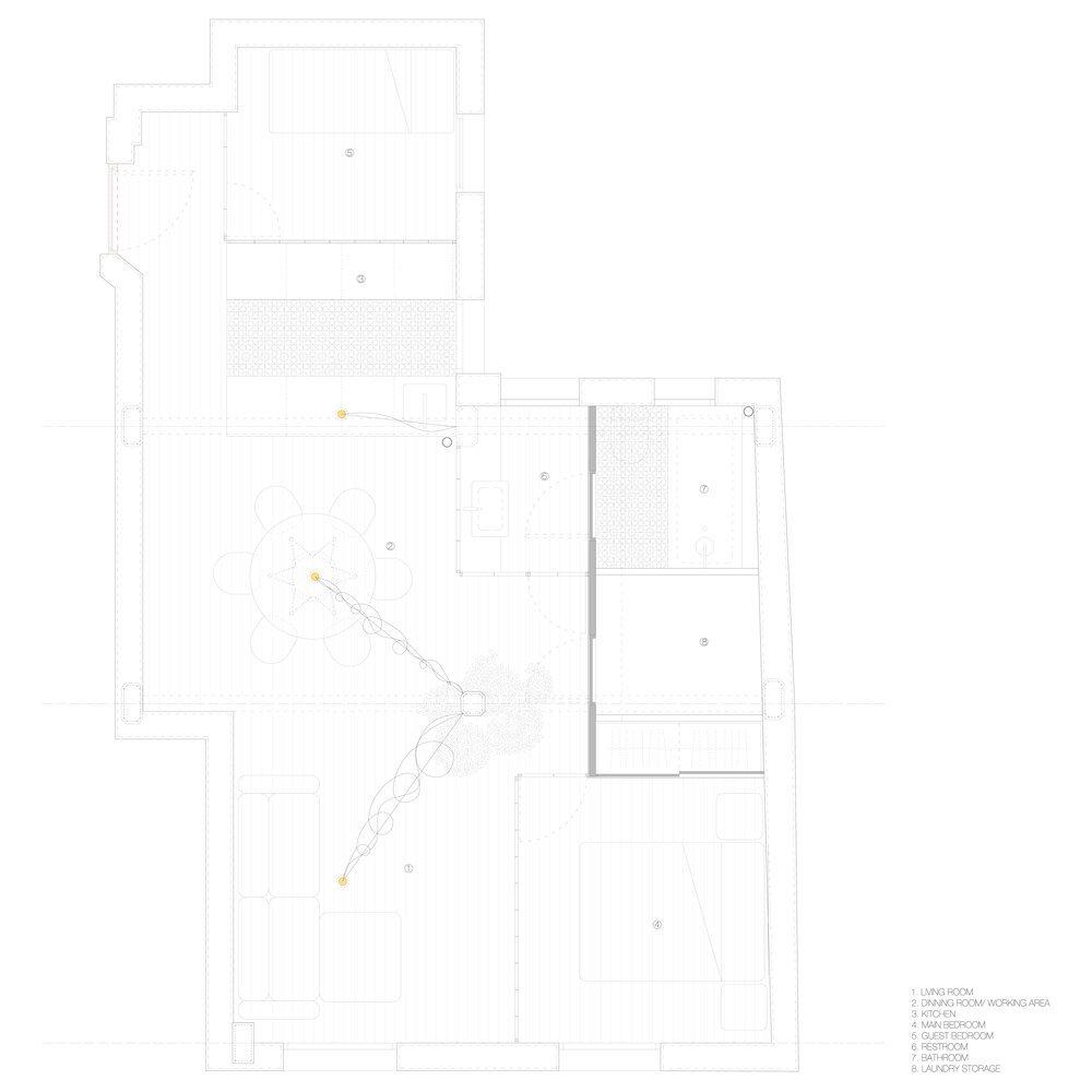 Parais - Manuel Ocaña - Madrid Spain - Floor Plan - Humble Homes