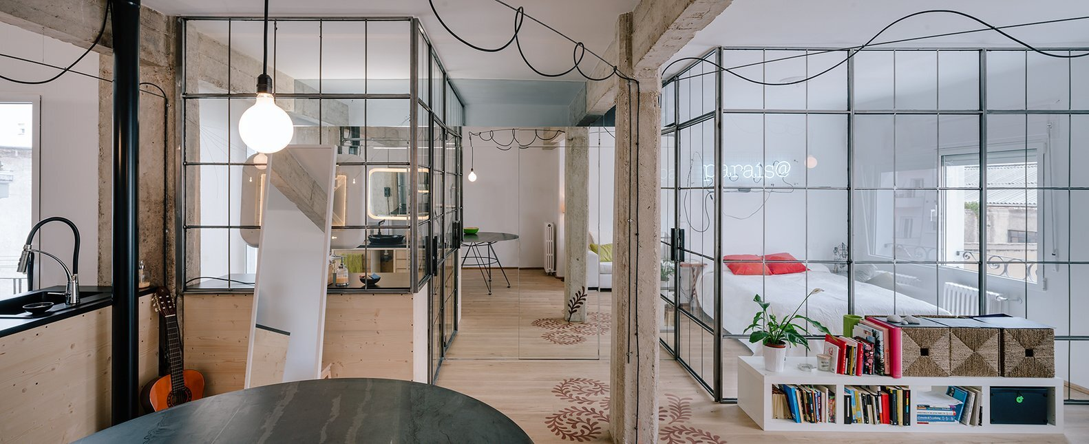 Parais - Manuel Ocaña - Madrid Spain - Glass Partitions - Humble Homes
