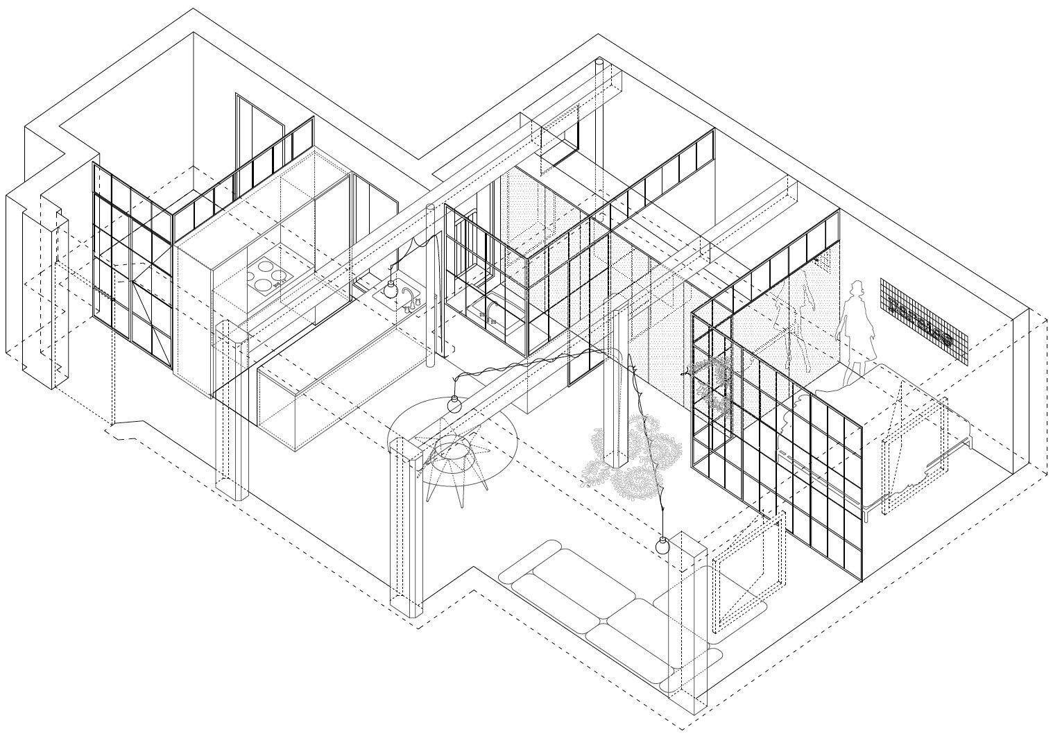 Parais - Manuel Ocaña - Madrid Spain - Layout - Humble Homes