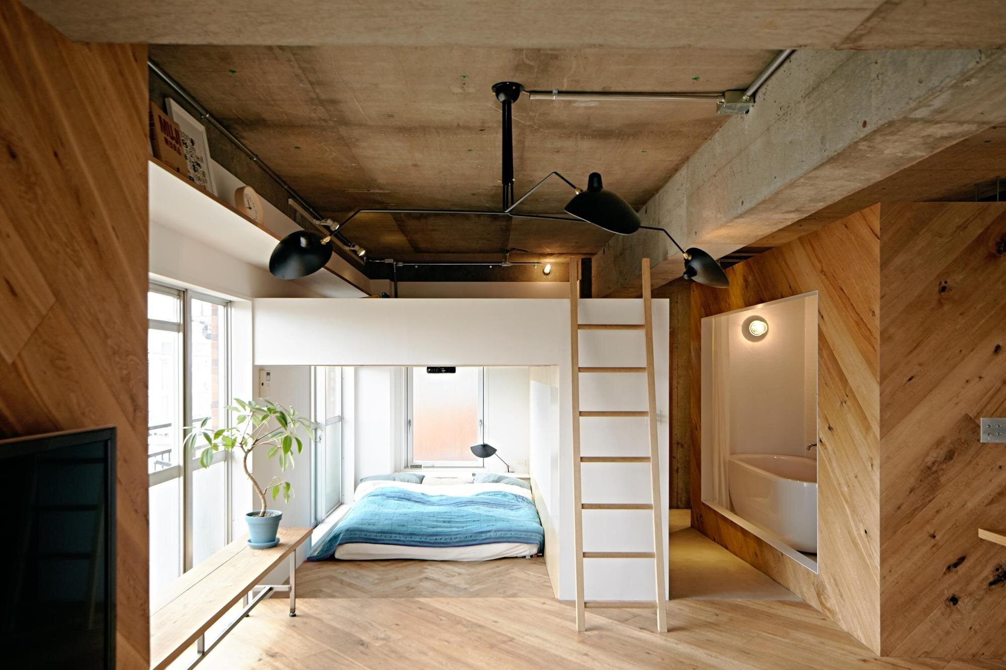 Tenhachi House - .8 Tenhachi Architect & Interior Design - Tokyo - Bedroom - Humble Homes
