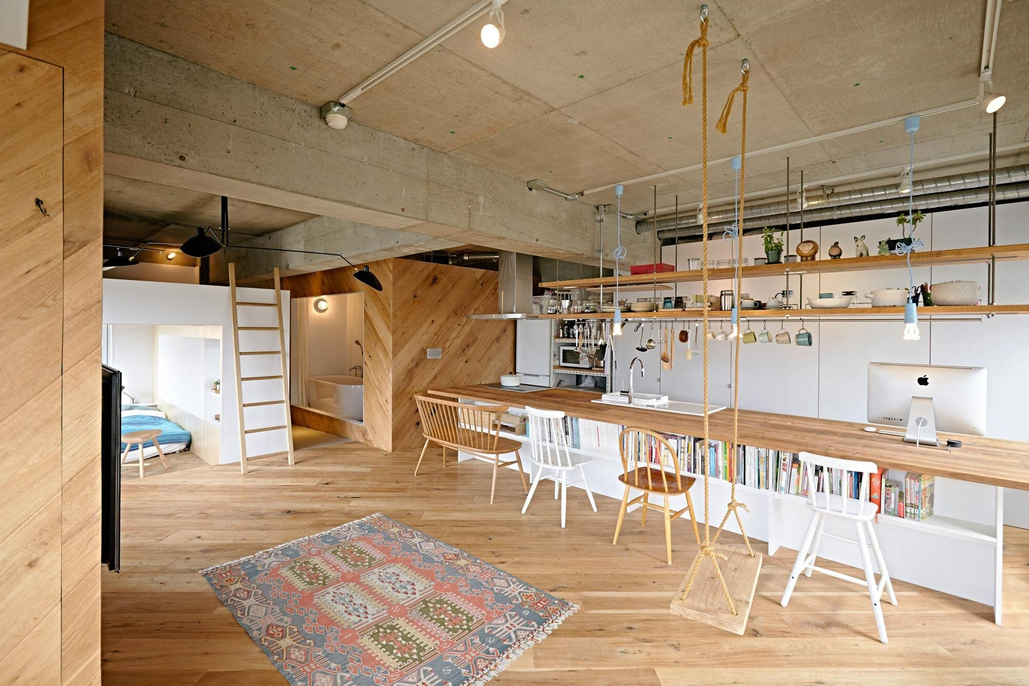 Tenhachi House - .8 Tenhachi Architect & Interior Design - Tokyo - Kitchen 2 - Humble Homes