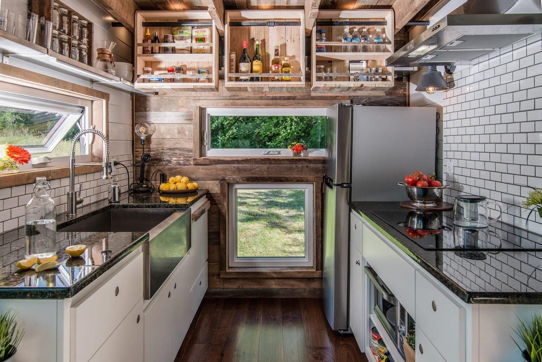 Alpha Tiny House   New Frontier Tiny Homes   Nashville   Kitchen   Humble  Homes