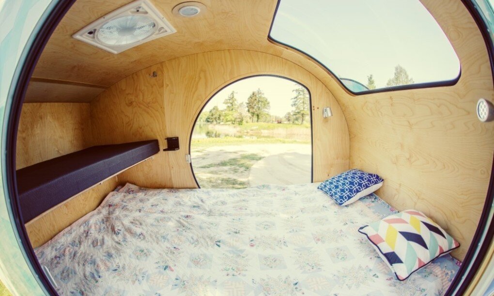 MINI A Minimal Teardrop Trailer by Tinycamper in Lithuania