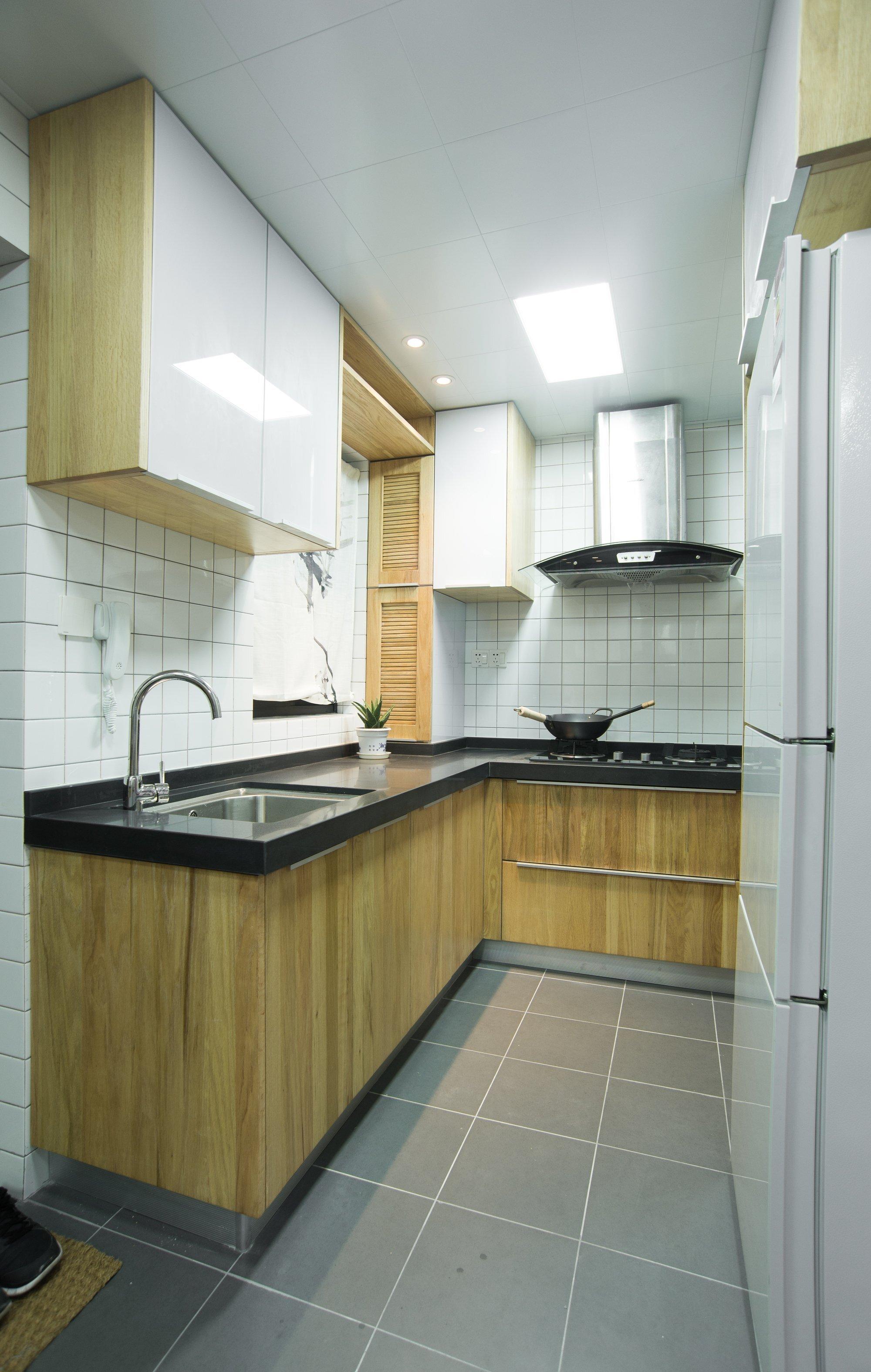 Traditional Chinese Home Design - Guo Donghai & Yan Linglin - Shanghai China - Kitchen - Humble Homes