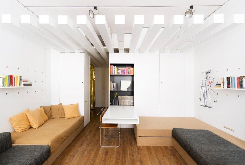 Compact Studio Design - Silvia Allori - Florence Italy - Living Room - Humble Homes