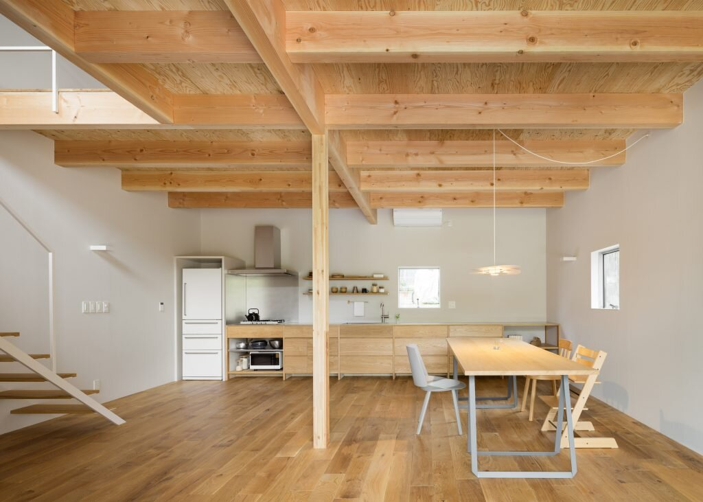 House in Mikage - Sides Core - Kobe Japan - Living Area - Humble Homes