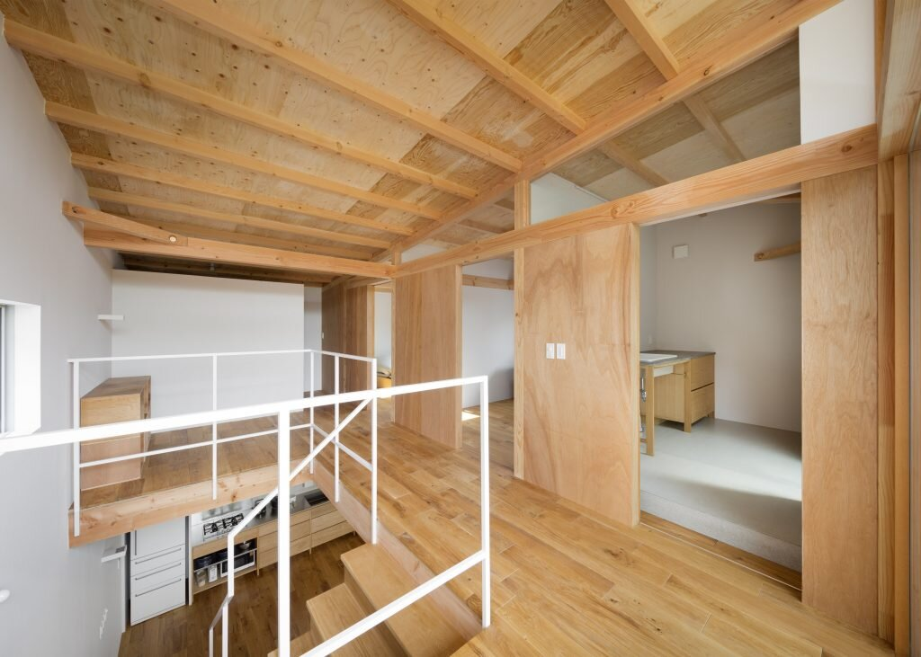 House in Mikage - Sides Core - Kobe Japan - Upper Floor - Humble Homes