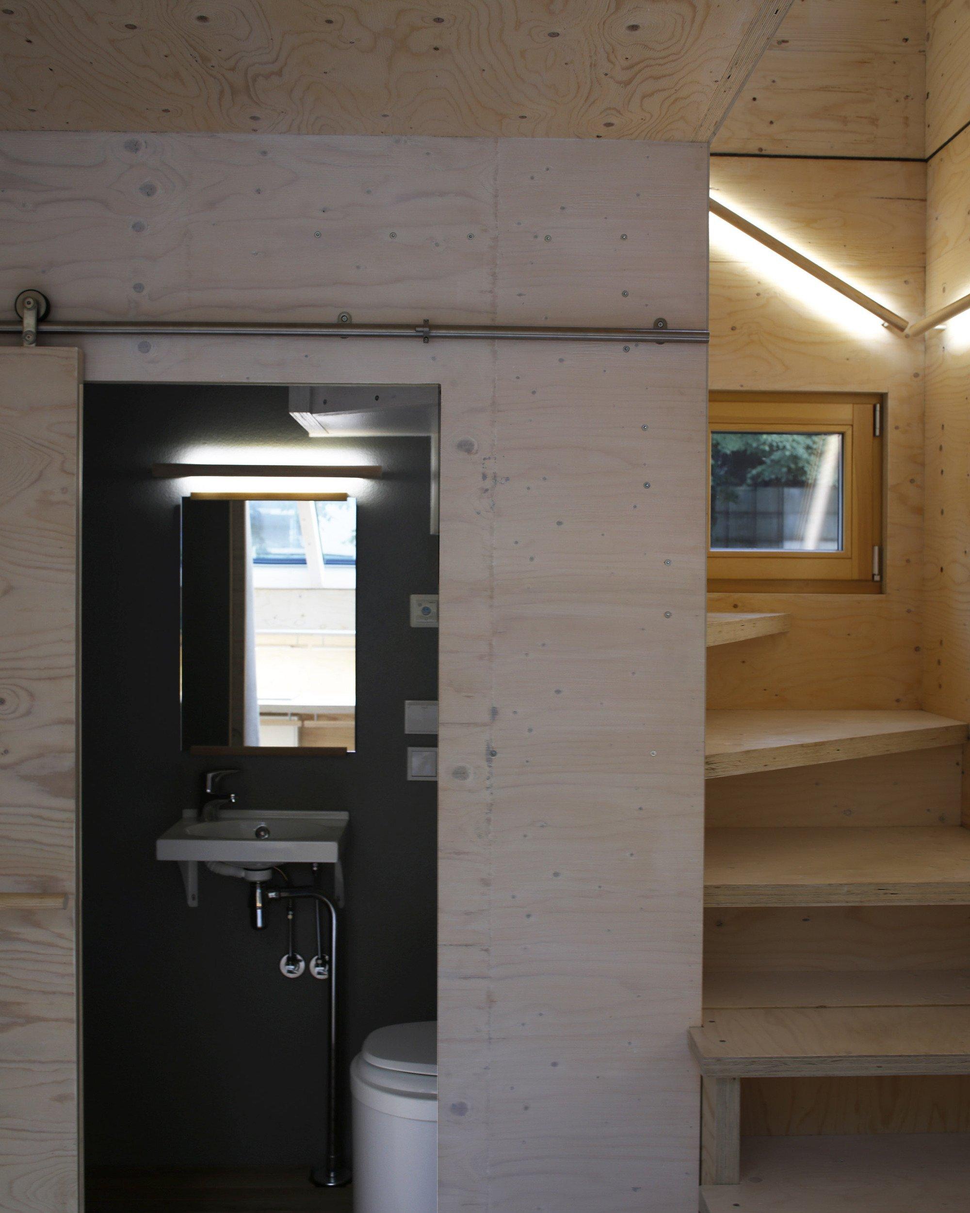Kokoon - Aalto University Wood Program - Finland - Bathroom - Humble Homes