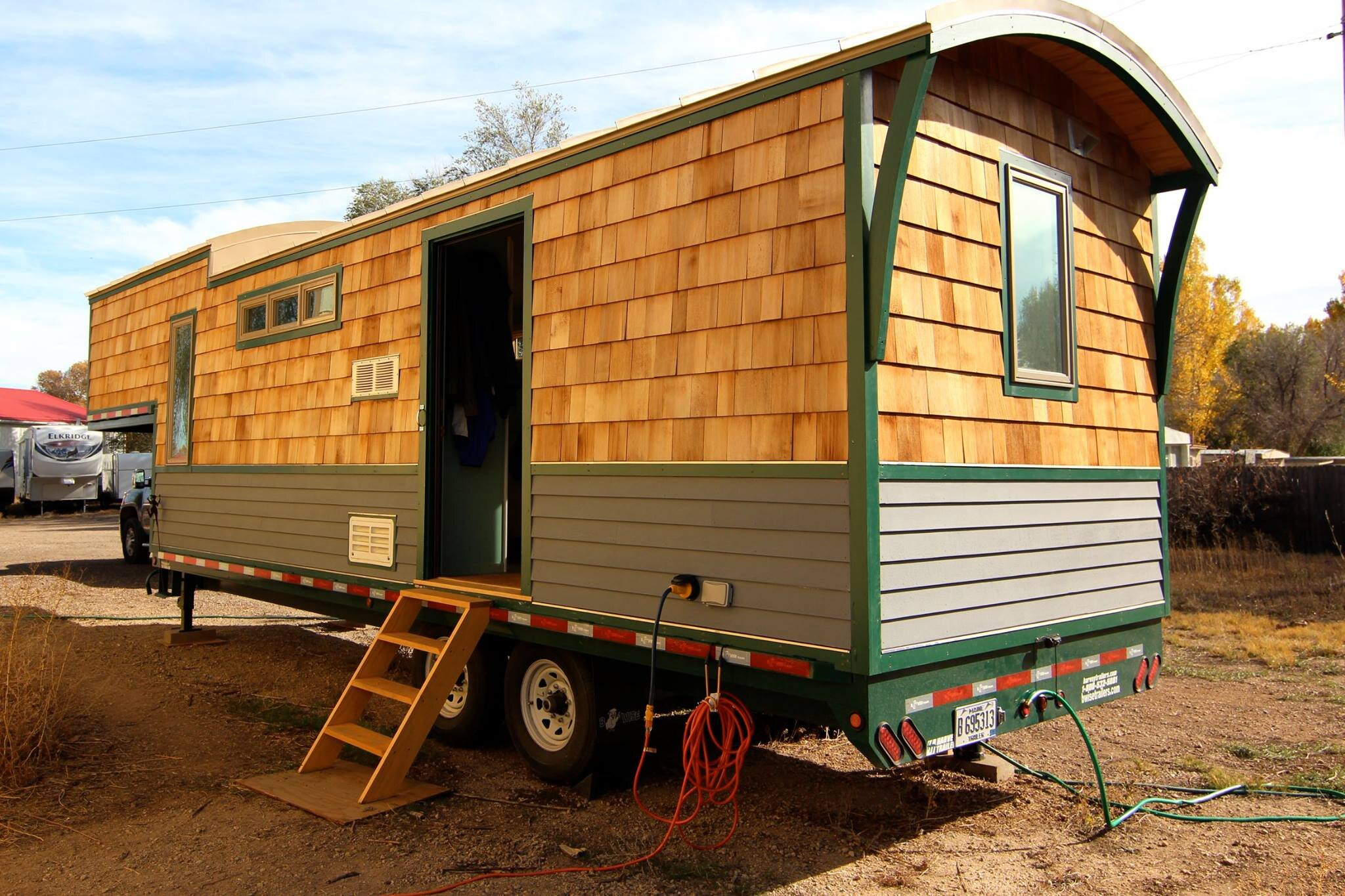 32 Foot Tiny House Built on a Gooseneck Trailer by MitchCraft