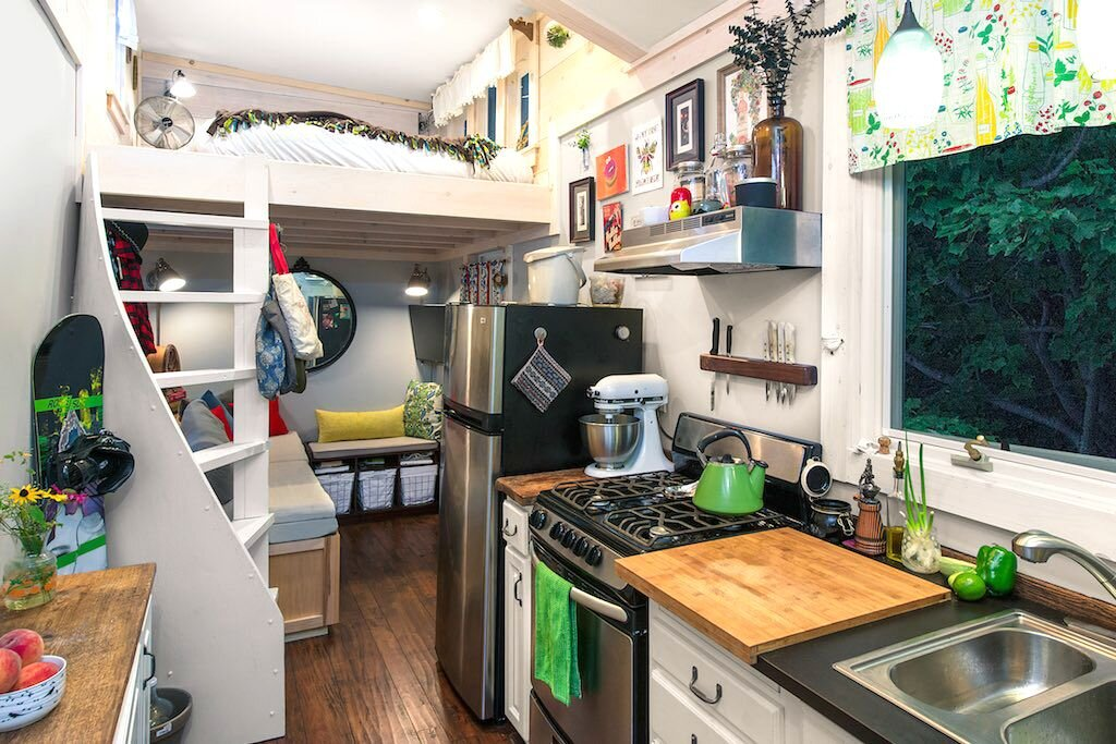 Little Lou A Tiny House Built with Salvaged Materials from Vermont
