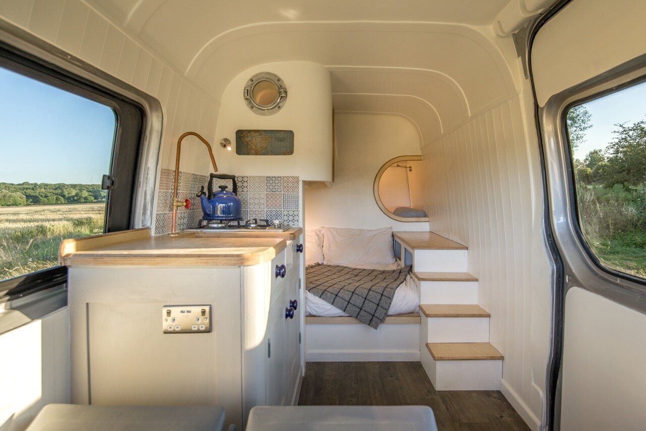 Jack Richens Crafts a Custom Sprinter Van Camper for $18,500