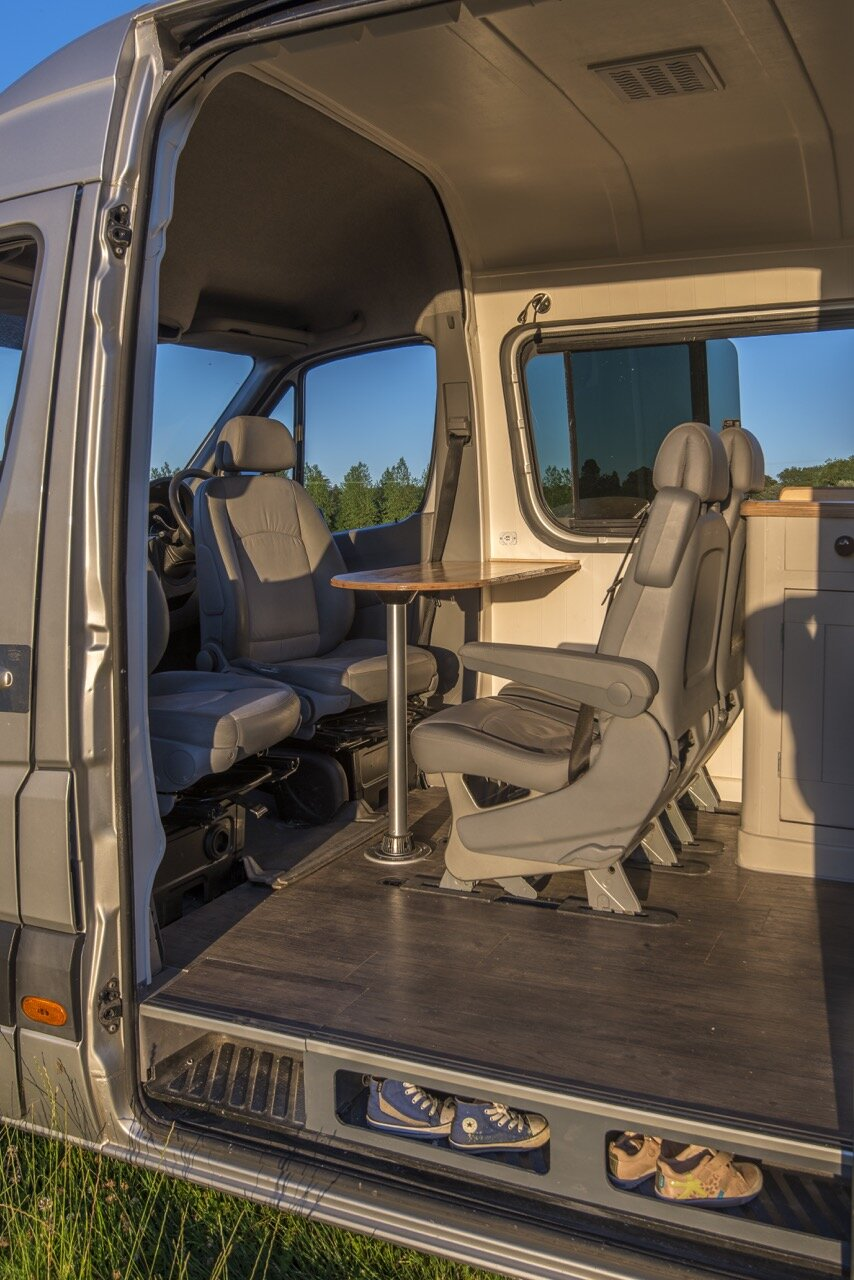 Jack Richens Crafts a Custom Sprinter Van Camper for $18,500