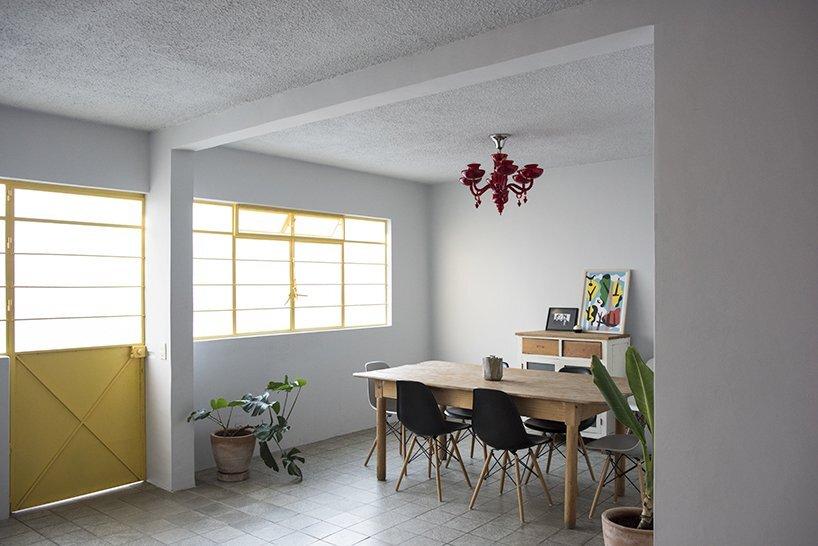 1970s Home Restoration - Juan Pablo Ochoa + Ruben Padilla - Mexico - Dining Room - Humble Homes
